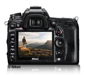 Nikon D7000 - Rückansicht