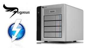 promise pegasus R4 - thunderbolt raid system