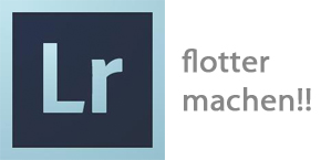 Lightroom 4.4 flotter machen
