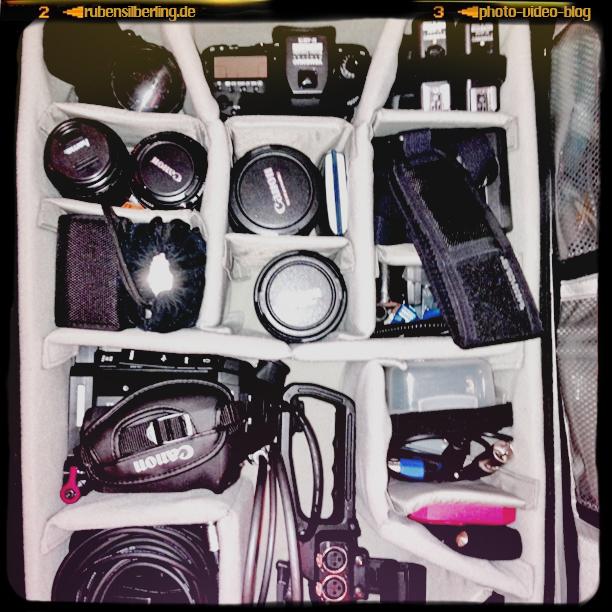 tool-kit eines fotografierenden filmemachers
