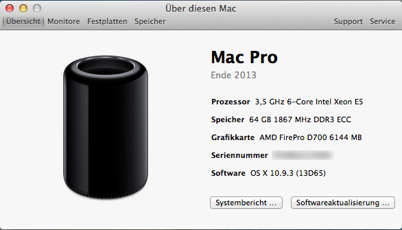 System-Info MacPro