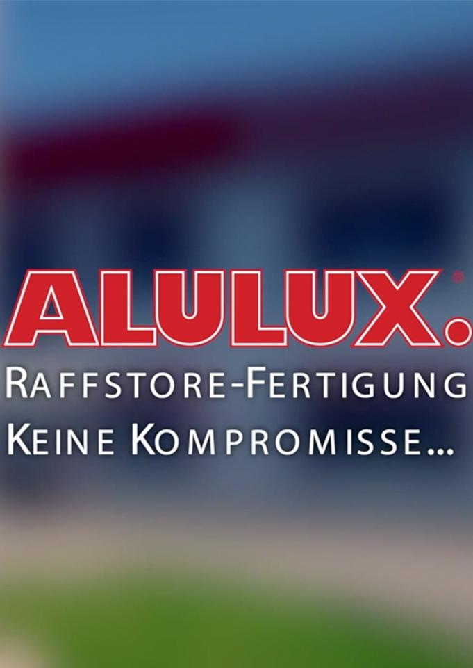 Alulux Raffstore Fertigung