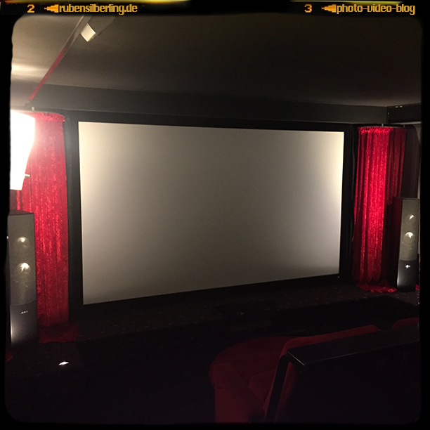 UPDATE: Projekt Heimkino & Screening Room