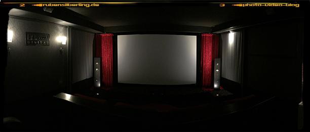 Frontansicht von Kino1